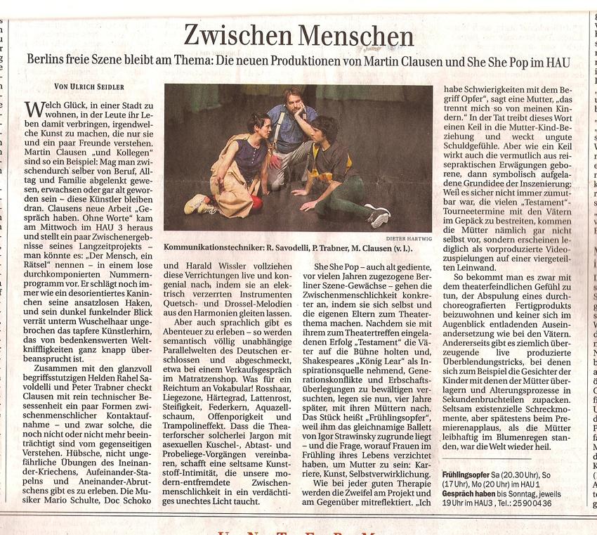 kritik berliner zeitung